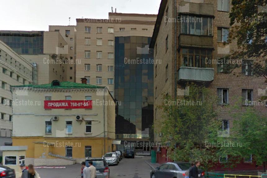 Поиск Коммерческой недвижимости Грузинская Малая улица Снять помещение под офис Еропкинский переулок